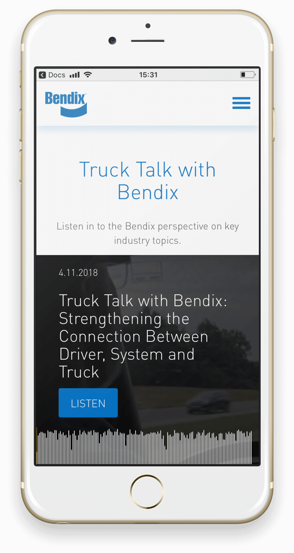 Case study Bendix mobile app